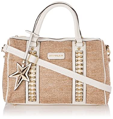 Thierry Mugler Beauty 1, Sac bowling - Multicolore (6O22 Naturel/Blanc), Taille Unique