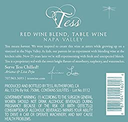 Tess Red Wine Blend, Napa Valley 750