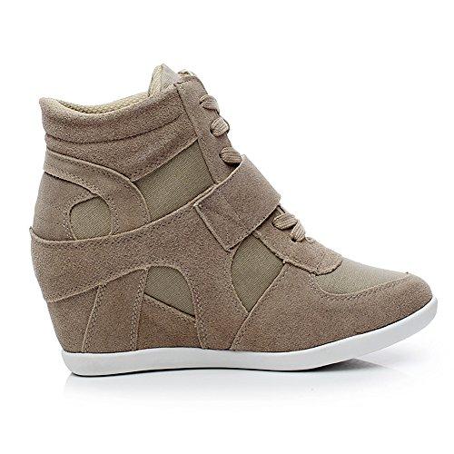 generic s formal wedge heel suede leather