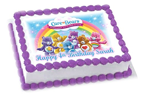 edible-a4-carebears-girls-icing-personalised-cake-topper