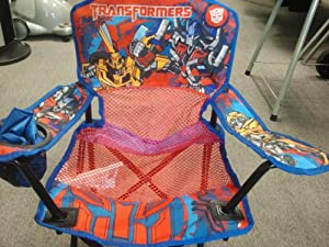 Transformers Child Folding Armchair from exxel outdoors