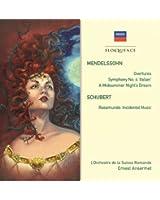 Medelssohn:Orchestral Works/Sc