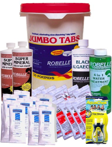 Awardpedia in the swim 3 inch pool chlorine tablets 50 lbs for Pool won t show chlorine