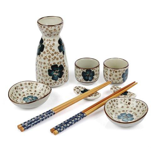 Lagute Nine-Piece Japanese Sake Set, Best For Gift