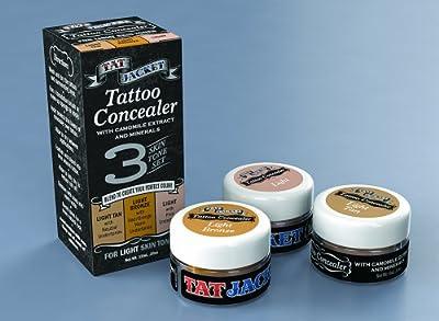 Tatjacket Concealer Blender Pack, Light