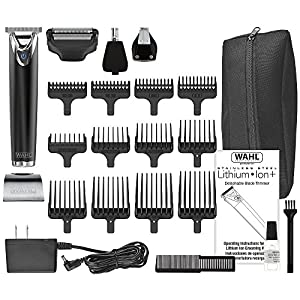 Wahl Lithium Ion Slate Stainless Steel Trimmer #9864