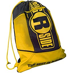 Ringside Boxing Glove Bag, Yellow/Black, One Size