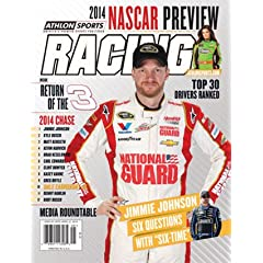 Buy 2014 Athlon Sports NASCAR Racing Preview Magazine- Dale Earnhardt, Jr. Danica Patrick Cover by Athlon Sports Collectibles