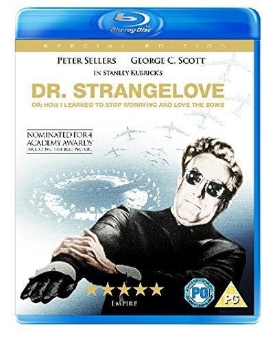 Blu-ray : Dr. Strangelove [Import-UK, Region-free Blu-ray] [+Peso($36.00 c/100gr)] (US.ME.6.69-4.13-B0036VCJ36.0)