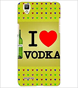 PrintDhaba Quote D-3249 Back Case Cover for OPPO F1 (Multi-Coloured)
