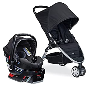 Britax B-Agile B-Safe 35 Elite Travel System - Domino