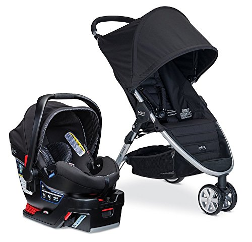 Britax B-Agile B-Safe 35 Elite Travel System - Domino (Be Agile 35 Travel System compare prices)