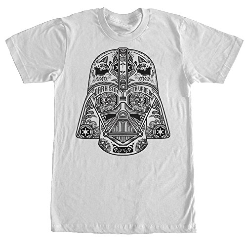 Star Wars Henna Darth Vader Helmet Print Mens Graphic T Shirt - Fifth Sun