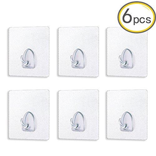 wall-hooksanglink-176lb-8kgmax-nail-free-transparent-reusable-super-heavy-duty-adhesive-bathroom-hoo