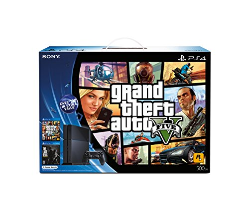 PlayStation 4 Black Friday Bundle - Grand Theft