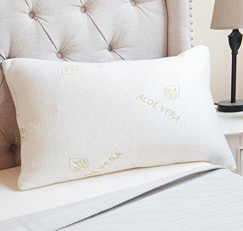 luxor-linens-amita-therapeutic-aloe-vera-infused-memory-foam-pillow-hypoallergenic-dust-mite-resista
