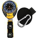 Ezyoutdoor 4 In1 Digital Altimeter Baromete Compass Thermometer Navigator Compasses North Arrow Carabiner For...