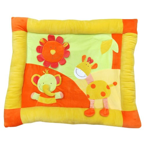 Plush Baby Playmat - Bright Sun front-116440