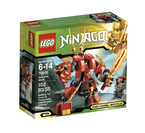 New LEGO Ninjago Kais Fire 70500