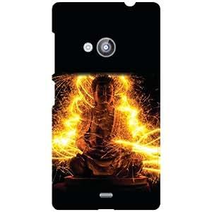 Nokia Lumia 535 Back Cover - Fire It Up Designer Cases