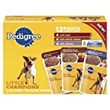 Pedigree Dog Food Little Champions Variety Pack 63 OZ (Pack of 8)