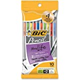 BIC Pencil Xtra Life, Medium Point (0.7 mm), 10-Count