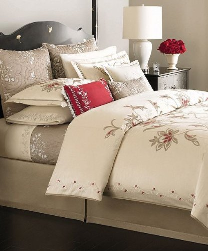 Martha Stewart Collection Bedding, Dreamtime Floral Twin Duvet Cover