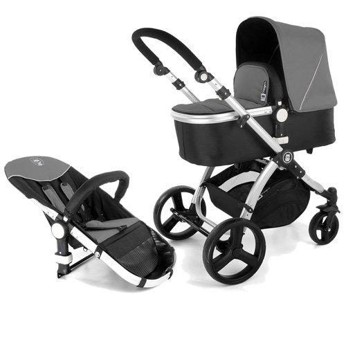 Froggy MAGICA 2012 combi pushchair Anthrazit