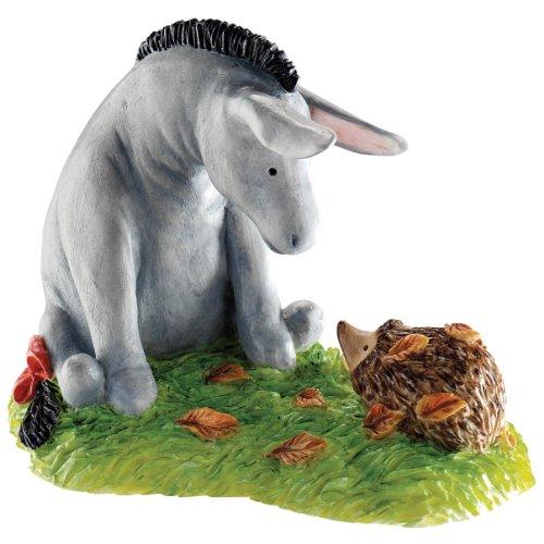 Classic Pooh Eeyore And Hedgehog Figurine front-1017526