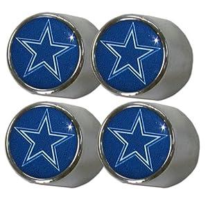 Amazon Com Nfl Dallas Cowboys Valve Stem Covers Sports