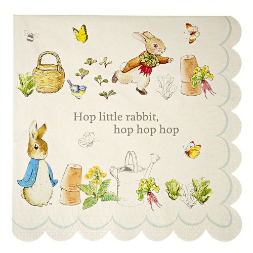 Meri Meri Peter Rabbit Large Napkins