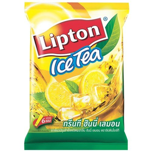 Lipton Ice Tea Green Tea Honey Lemon (Pack 6 Sachets)