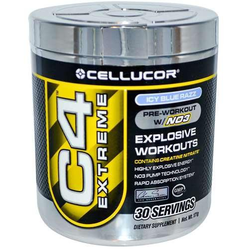 Cellucor  - C4 - Icy Blue Razz (30 Servings), 171 g powder