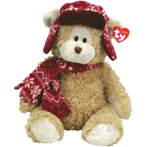 "TY Classicsâ""¢Hudsonâ""¢ - Bear with Hat and Scarf"