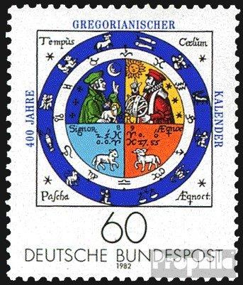 BRD (BR.Deutschland) 1155 (kompl.Ausg.) FDC 1982 Gregor. Kalender (Briefmarken für Sammler)