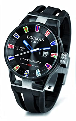 Locman Montecristo Yacht Club PVD Automatic from watchmaker Locman Italy