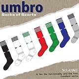 uc043 UMBRO(アンブロ) 靴下 ソックス ストッキング 赤 F