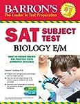 Barron's SAT Subject Test Biology E/M...