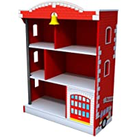 KidKraft 76026 Firehouse Bookcase (Red)