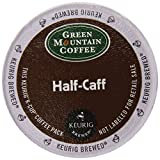 Keurig, Green Mountain Coffee, Half-Caff 2.0, K-Cup packs, 0.33 Ounce, 50 Count