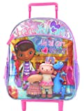 Disney Doc Mcstuffins Toddler Rolling Backpack 12 Inch