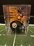 Pittsburgh Steelers NFL Helmet Shadowbox w/ Antonio Brown card