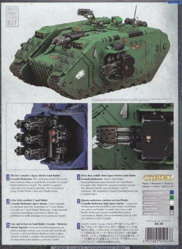 Space Marine Land Raider Redeemer Crusader Tank
