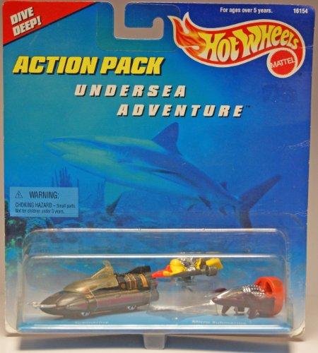 Hot Wheels Action Pack Undersea Adventure - 1