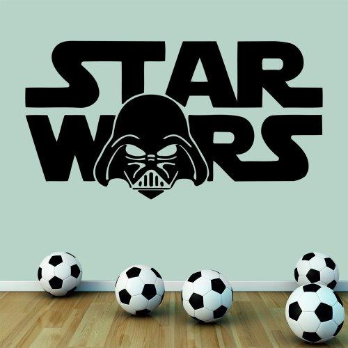 Wondrous-Wall-Art-Sticker-mural-pour-chambre-de-garon-Motif-Star-Wars-Dark-Vador-Format-moyen
