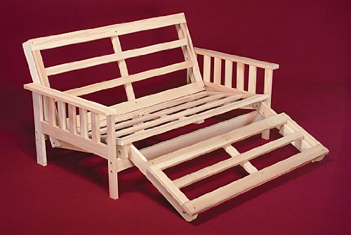 Twin Size Savannah Futon Lounger Bed - Frame Only