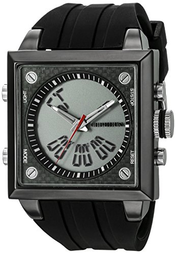 CEPHEUS Men's Quartz Watch CP900-622A CP900-622A with Rubber Strap