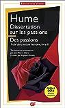 Dissertation sur les passions par Hume