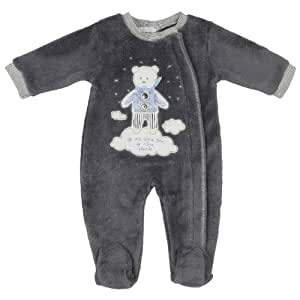 Absorba surpyjama anthracite 39 nuit layette 39 2 ans for Bureau bebe 18 mois