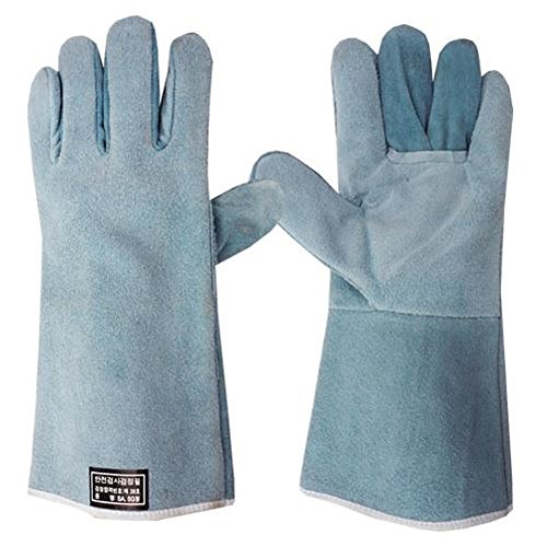 HandMax-Premium-Welding-Gloves-Thermal-Protection-Large-Size-14-Inner-Lining-Light-Blue